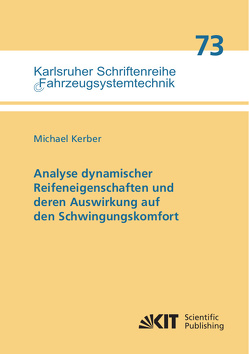 Analyse dynamischer Reifeneigenschaften und deren Auswirkung auf den Schwingungskomfort von Kerber,  Michael