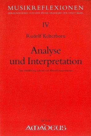 Analyse und Interpretation von Kelterborn,  Rudolf