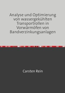 Analyse und Optimierung von wassergekühlten Transportrollen in Vorwärmöfen von Bandverzinkungsanlagen von Rein,  Carsten