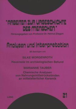 Analysen und Interpretation von Morgenroth,  Silke, Tauber,  Marianne