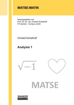 Analysis 1 von Schelthoff,  Christof