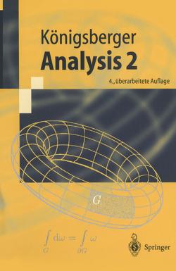 Analysis 2 von Königsberger,  Konrad