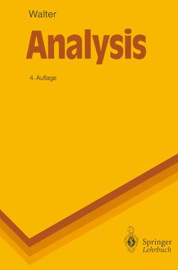 Analysis 2 von Walter,  Wolfgang