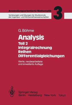 Analysis von Böhme,  Gert