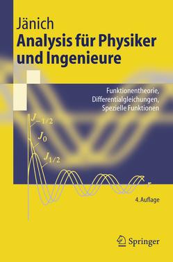 Analysis für Physiker und Ingenieure von Jänich,  Klaus
