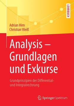 Analysis – Grundlagen und Exkurse von Hirn,  Adrian, Weiss,  Christian