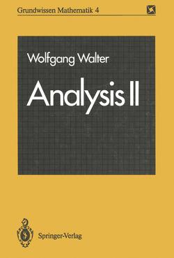 Analysis II von Walter,  Wolfgang