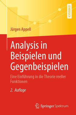 Analysis in Beispielen und Gegenbeispielen von Appell,  Jürgen
