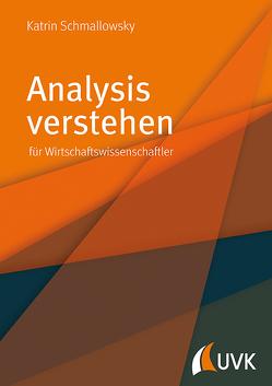 Analysis verstehen von Schmallowsky,  Katrin