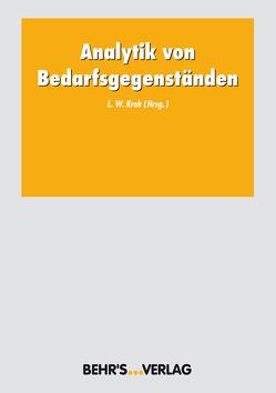 Analytik von Bedarfsgegenständen von Kroh,  Lothar W.