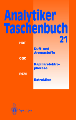 Analytiker-Taschenbuch von Bahadir,  A. Müfit, Danzer,  Klaus, Engewald,  Werner, Fresenius,  Wilhelm, Galensa,  Rudolf, Günzler,  Helmut, Huber,  Walter, Linscheid,  Michael, Lüderwald,  I., Schwedt,  Georg, Tölg,  Günter, Wisser,  H.