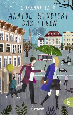 Anatol studiert das Leben von Falk,  Susanne