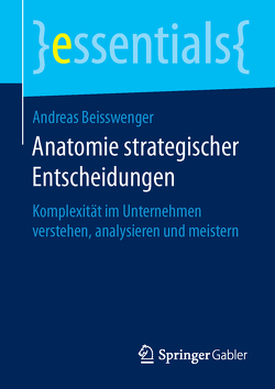 Anatomie strategischer Entscheidungen von Beisswenger,  Andreas