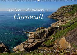 Anblicke und Ausblicke in Cornwall (Wandkalender 2019 DIN A2 quer) von Schäfer,  Ulrike