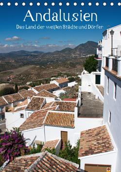 Andalusien – Das Land der weißen Städte und Dörfer (Tischkalender 2019 DIN A5 hoch) von J. Richtsteig,  Walter