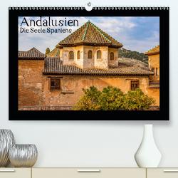 Andalusien – Die Seele Spaniens (Premium, hochwertiger DIN A2 Wandkalender 2021, Kunstdruck in Hochglanz) von Konietzny,  Thomas