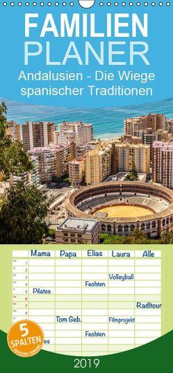 Andalusien – die Wiege vieler spanischer Traditione – Familienplaner hoch (Wandkalender 2019 , 21 cm x 45 cm, hoch) von RODRIGUEZ Photography,  CLAVE