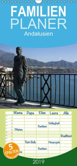 Andalusien – Familienplaner hoch (Wandkalender 2019 , 21 cm x 45 cm, hoch) von Ange