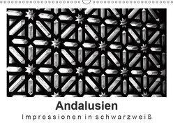 Andalusien Impressionen in schwarzweiß (Wandkalender 2019 DIN A3 quer) von Knappmann,  Britta