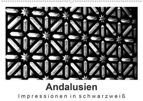 Andalusien Impressionen in schwarzweiß (Wandkalender 2020 DIN A2 quer) von Knappmann,  Britta