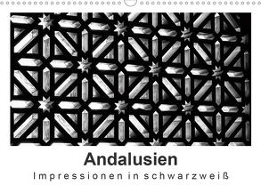 Andalusien Impressionen in schwarzweiß (Wandkalender 2020 DIN A3 quer) von Knappmann,  Britta