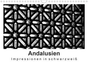 Andalusien Impressionen in schwarzweiß (Wandkalender 2020 DIN A4 quer) von Knappmann,  Britta