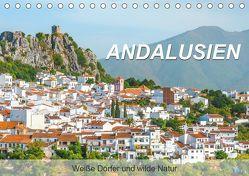 Andalusien – Weiße Dörfer und wilde Natur (Tischkalender 2019 DIN A5 quer) von Feuerer,  Jürgen
