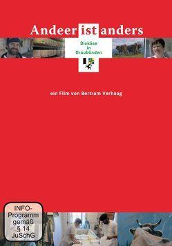 Andeer ist anders – Biokäse in Graubünden von Schindler,  Stefan, Verhaag,  Bertram