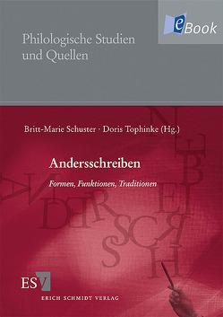 Andersschreiben von Schuster,  Britt-Marie, Tophinke,  Doris