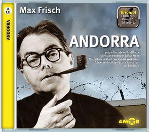 Andorra, 2 CDs, komplett gespielt im Original, mit zusätzlichen Erläuterungen. Entdecke. Dramen. Erläutert. von Frisch,  Max, Petzold,  Bert Alexander