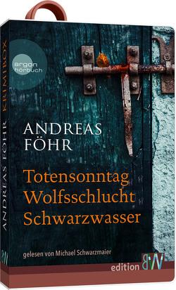 Andreas Föhr Krimibox von Föhr ,  Andreas, Schwarzmaier,  Michael