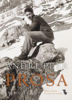 Andri Peer Prosa 1945-1985 von Ganzoni,  Annetta, Peer,  Andri