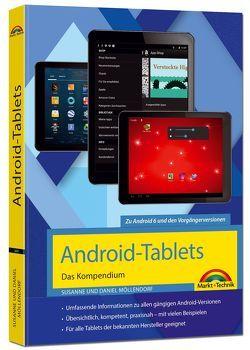 Android Tablets – Das Kompendium Handbuch – für Android 7 Nougat & Vorgängerversionen von Gieseke,  Wolfram, Möllendorf,  Daniel, Möllendorf,  Susanne