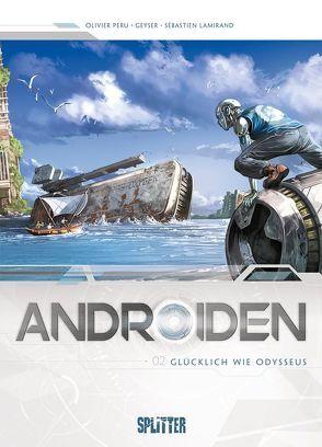 Androiden von Héban,  Olivier, Istin,  Jean-Luc, Millán,  Jesus Hérvas