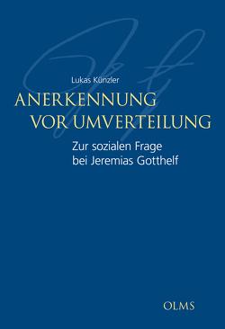 Anerkennung vor Umverteilung von Künzler,  Lukas