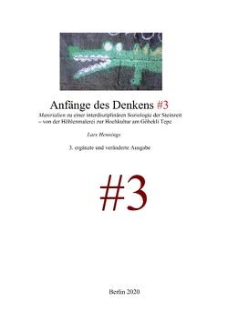 Anfänge des Denkens #3 von Hennings,  Lars