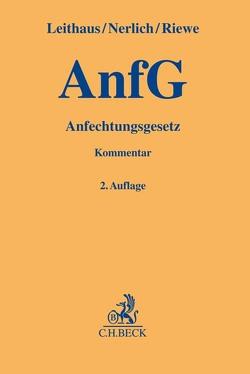 Anfechtungsgesetz von Leithaus,  Rolf, Nerlich,  Jörg, Niehus,  Christoph, Riewe,  Anne Deike