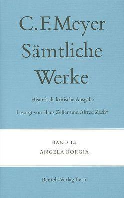 Angela Borgia von Meyer,  C F, Meyer,  Conrad Ferdinand, Zäch,  Alfred