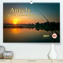 Angeln – meine Leidenschaft (Premium, hochwertiger DIN A2 Wandkalender 2021, Kunstdruck in Hochglanz) von Roder,  Peter