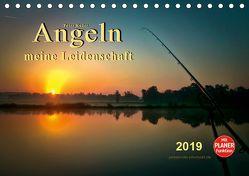 Angeln – meine Leidenschaft (Tischkalender 2019 DIN A5 quer) von Roder,  Peter