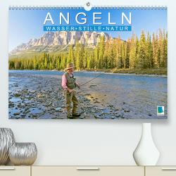 Angeln – Wasser, Stille und Natur (Premium, hochwertiger DIN A2 Wandkalender 2020, Kunstdruck in Hochglanz) von CALVENDO