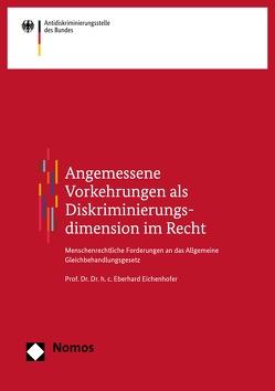 Angemessene Vorkehrungen als Diskriminierungsdimension im Recht von Eichenhofer,  Eberhard