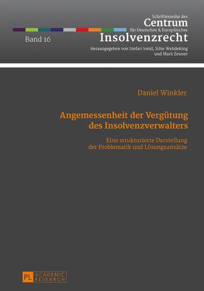 Angemessenheit der Vergütung des Insolvenzverwalters von Winkler,  Daniel