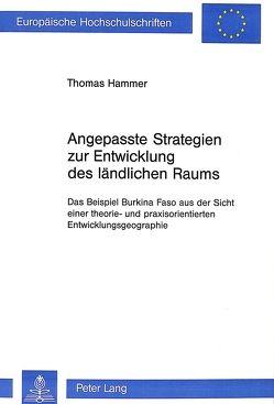 Angepasste Strategien zur Entwicklung des ländlichen Raums von Hammer,  Thomas