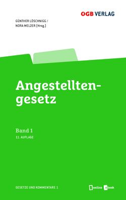 Angestelltengesetz von Löschnigg,  Günther, Melzer-Azodanloo,  Nora