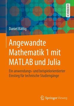Angewandte Mathematik 1 mit MATLAB und Julia von Bättig,  Daniel