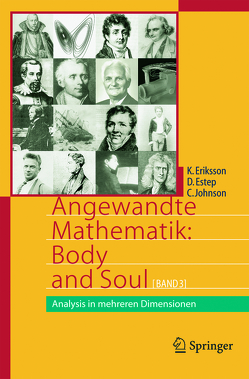 Angewandte Mathematik: Body and Soul von Eriksson,  Kenneth, Estep,  Donald, Johnson,  Claes