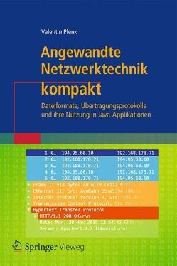 Angewandte Netzwerktechnik kompakt von Plenk,  Valentin