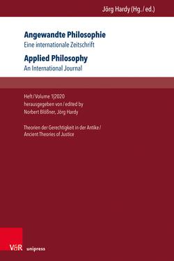 Angewandte Philosophie. Eine internationale Zeitschrift / Applied Philosophy. An International Journal von Blössner,  Norbert, Hardy,  Jörg