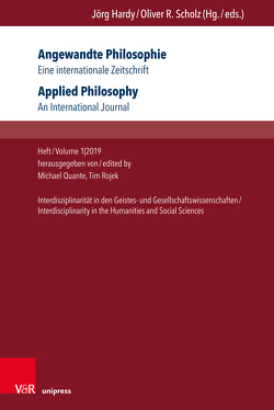 Angewandte Philosophie. Eine internationale Zeitschrift / Applied Philosophy. An International Journal von Quante,  Michael, Rojek,  Tim
